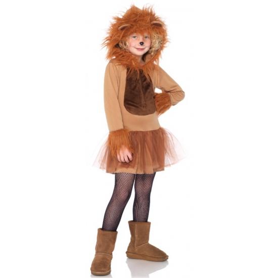 Leeuwen kostuum voor meiden