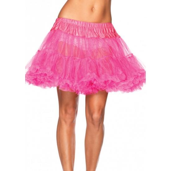 Leg Avenue luxe petticoat/tutu neon roze