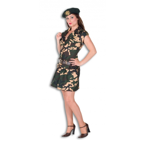 Leger outfit voor dames