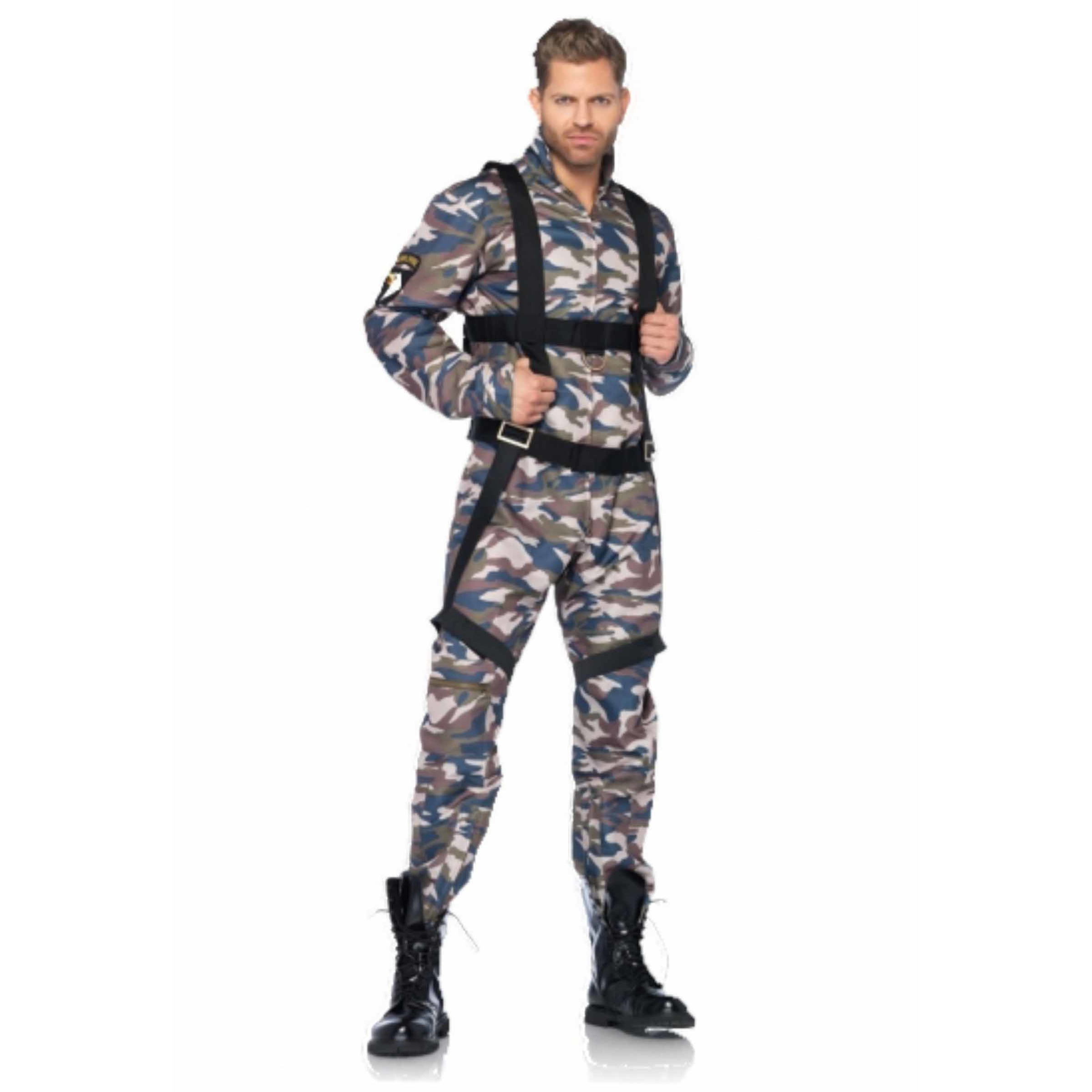 Leger parachutist kostuum