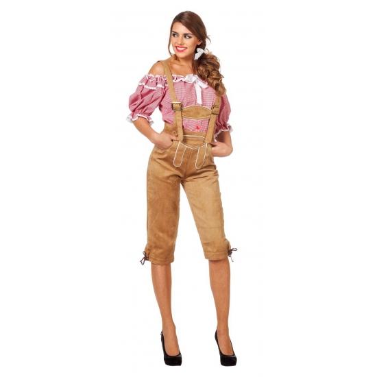 Luxe dames lederhose