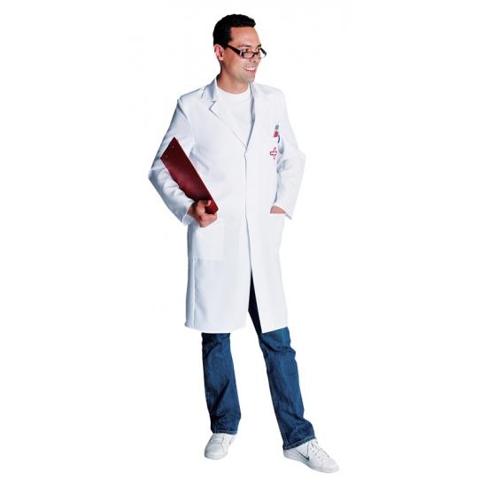 Luxe dokters jas voor heren