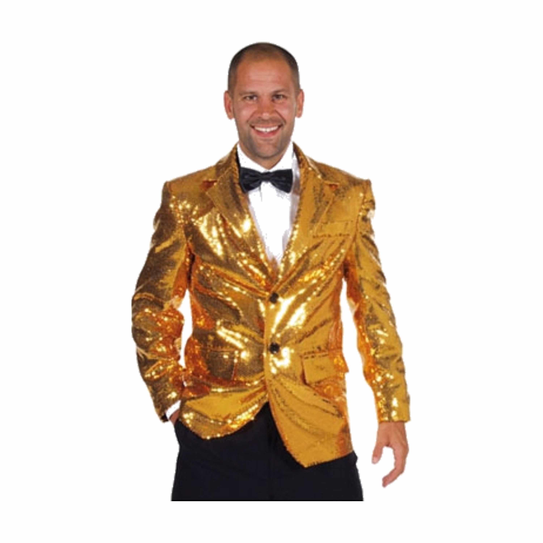 Luxe gouden colbert