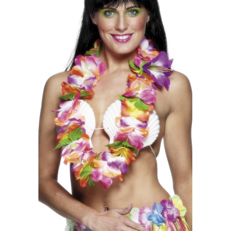 Luxe hawaiikrans felle kleuren