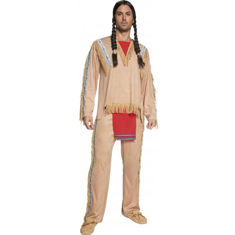 Luxe indianen kostuum heren