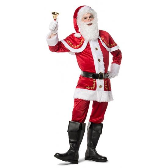 Luxe kerstman kostuum voor heren