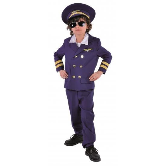 Luxe piloten kostuum voor kinderen