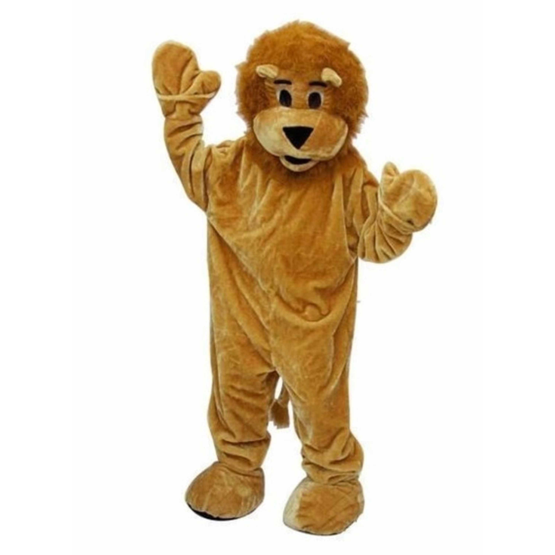 Luxe pluche leeuw kostuum