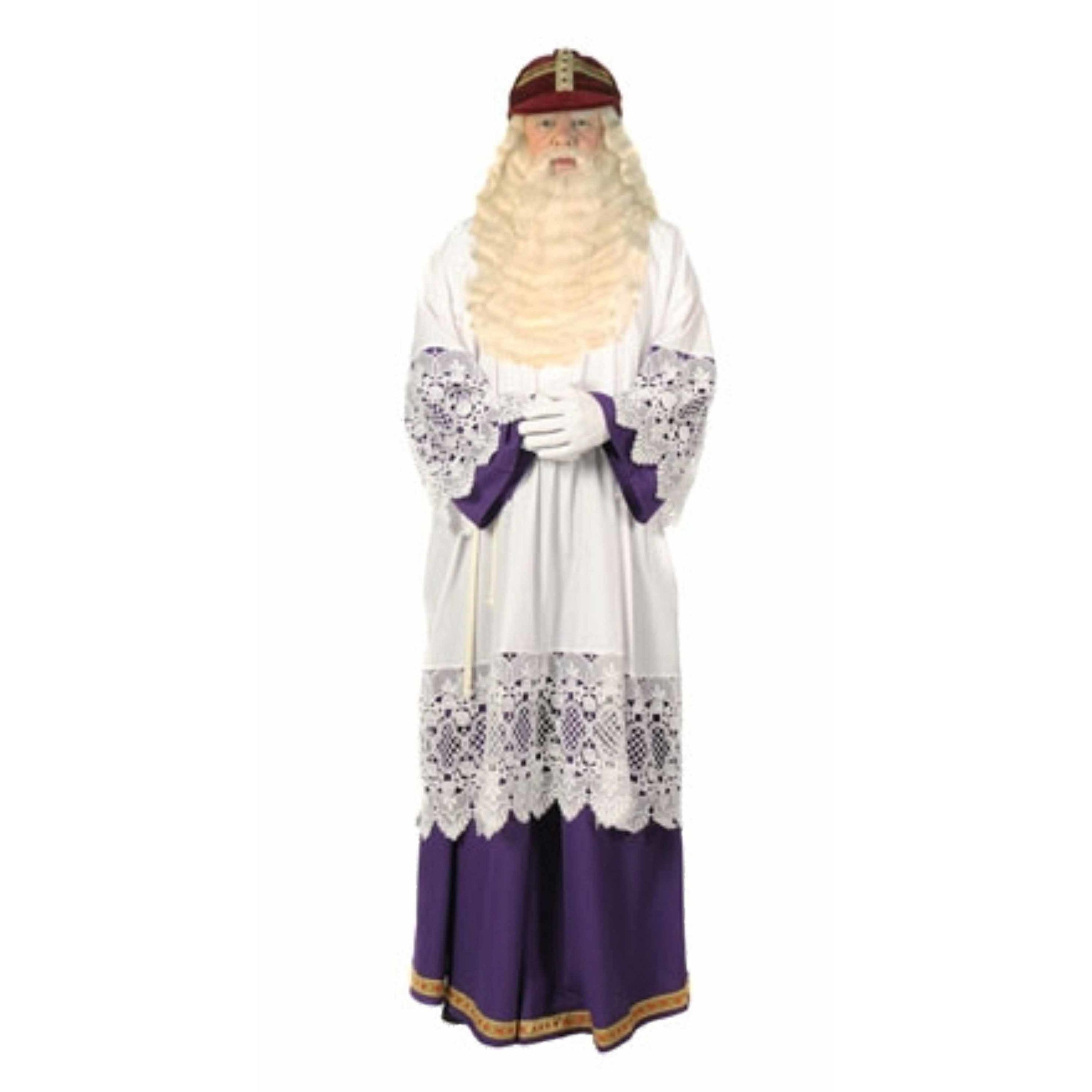 Luxe Sinterklaas habijt met rok