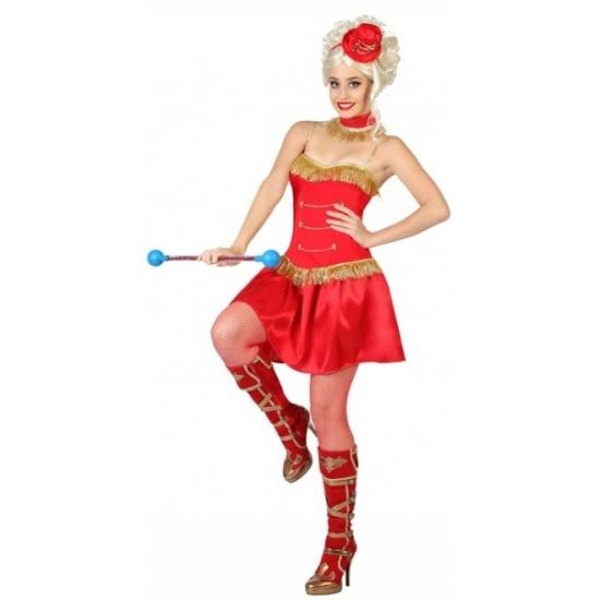 Majorette kostuum voor dames