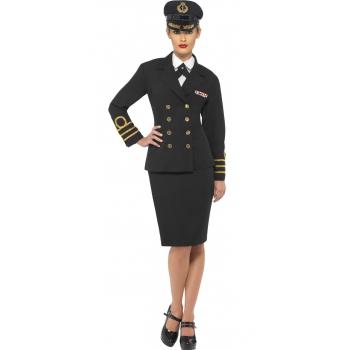 Marine officier kostuum voor dames