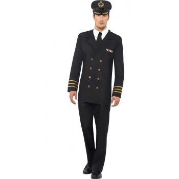 Marine officier kostuum voor heren