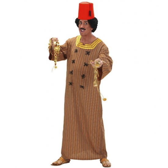 Marrokaans kaftan verkleed kostuum