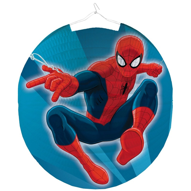 Marvel Spiderman bol lampion 25 cm