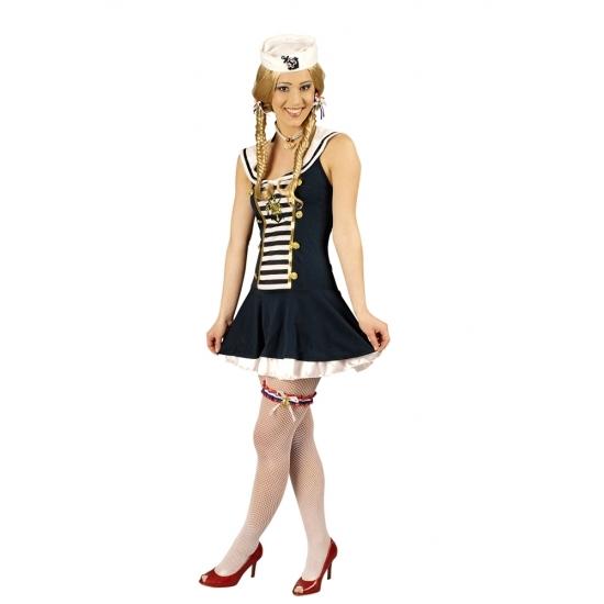 Matrozen jurk Nina voor dames