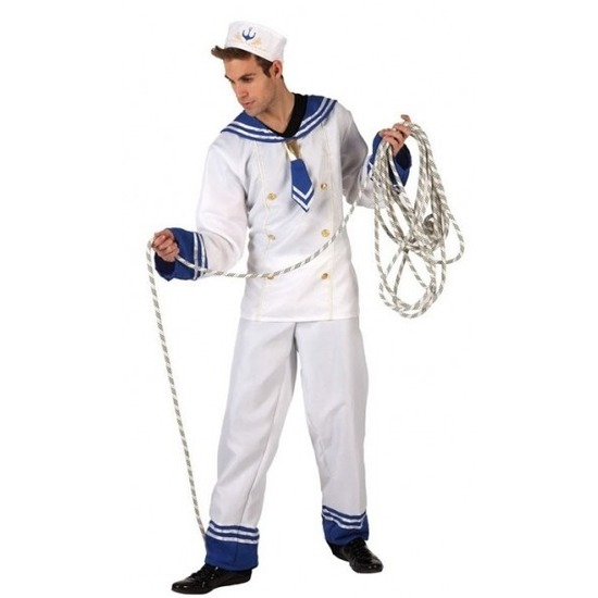 Matrozen verkleed pak/kostuum voor heren