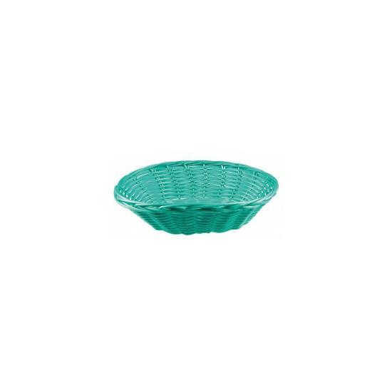 Mint groen rieten mandje 20 cm Groen
