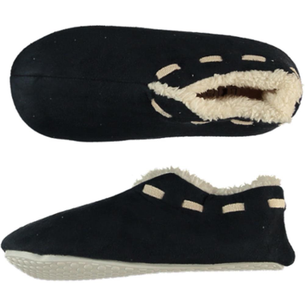 Navy blauwe Spaanse pantoffels/sloffen voor jongens/meisjes 35-36 -