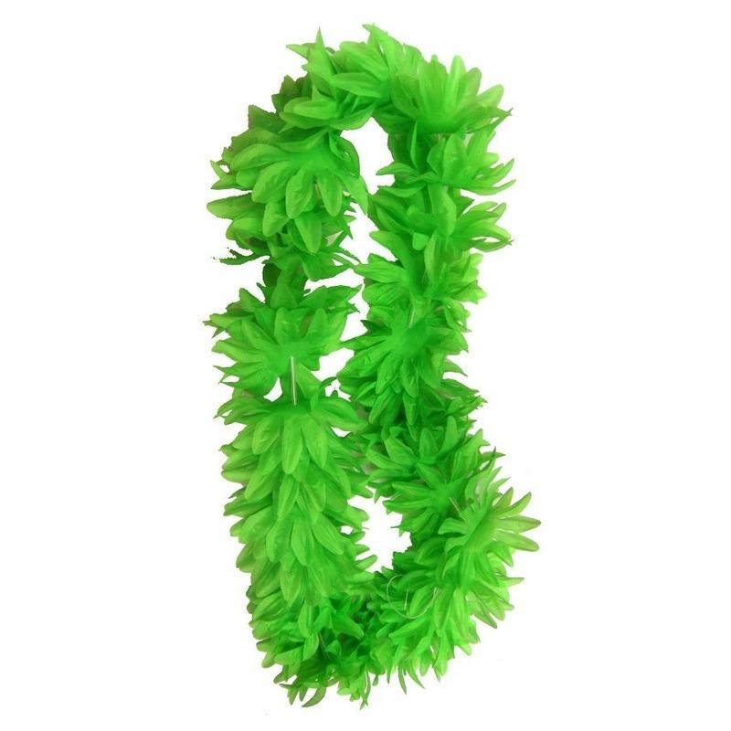 Neon groene hawaii slinger
