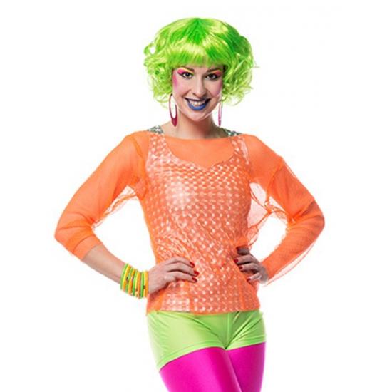 Neon groene hotpants