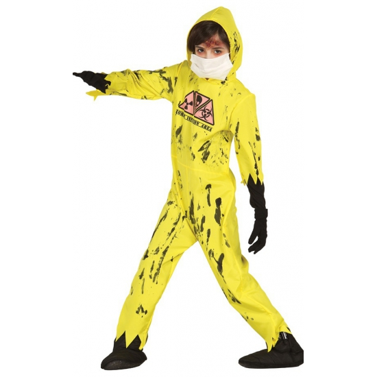 Nuclear zombie kostuum voor kinderen