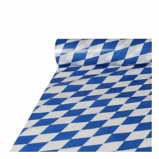 Oktoberfest - 2x stuks Bayern Oktoberfest tafelkleden plastic rol 20 x 1 meter