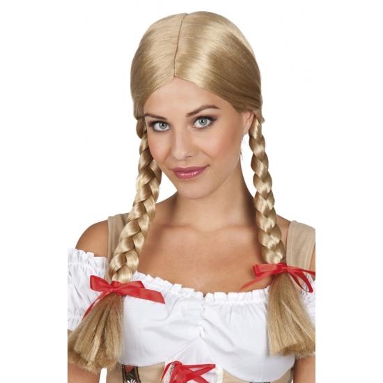 Oktoberfest - Blonde Heidi Oktoberfest pruik