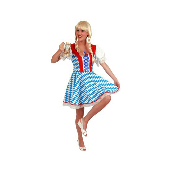Oktoberfest jurk met Bavaria print