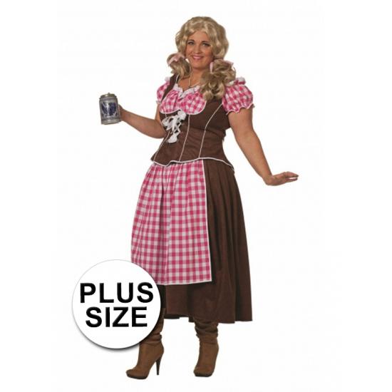 Oktoberfest - Lange Dirndl/tiroler jurk voor dames