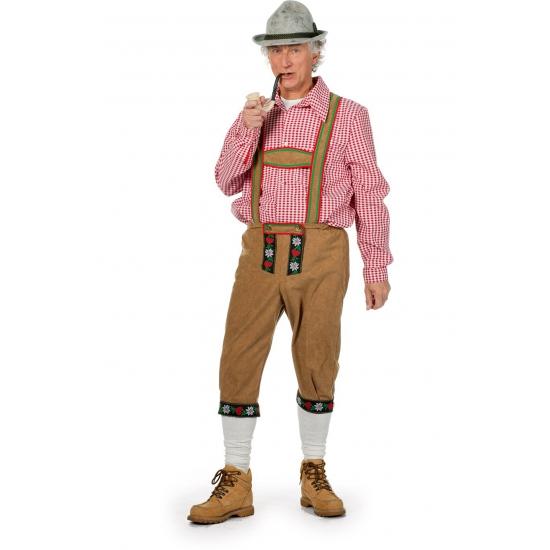 Oktoberfest - Lange Tiroler broek voor heren