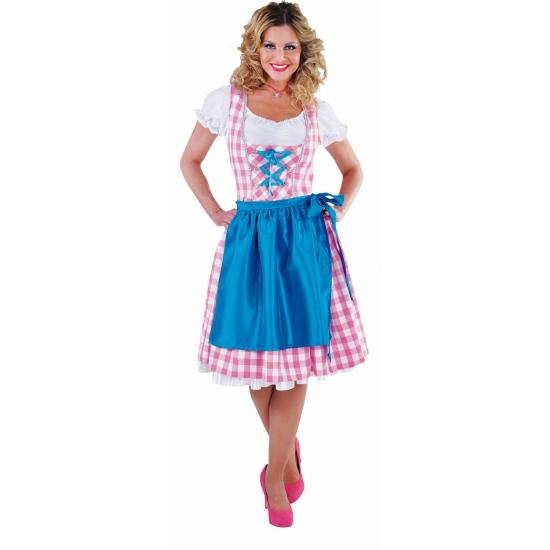 Oktoberfest - Luxe dirndl roze voor dames