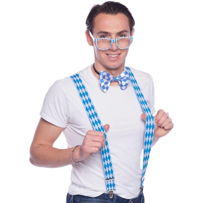 Oktoberfest - Oktoberfest verkleedaccessoires set met bretels voor volwassenen