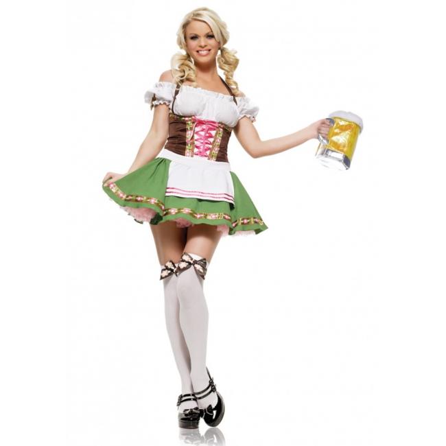 Oktoberfest - Sexy Tirolerfeest verkleedjurkje