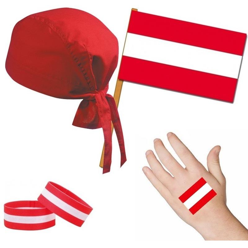 Oostenrijk/Oostenrijks thema verkleed set voor volwassenen