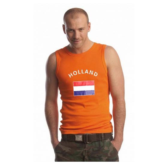 Oranje heren singlet Holland