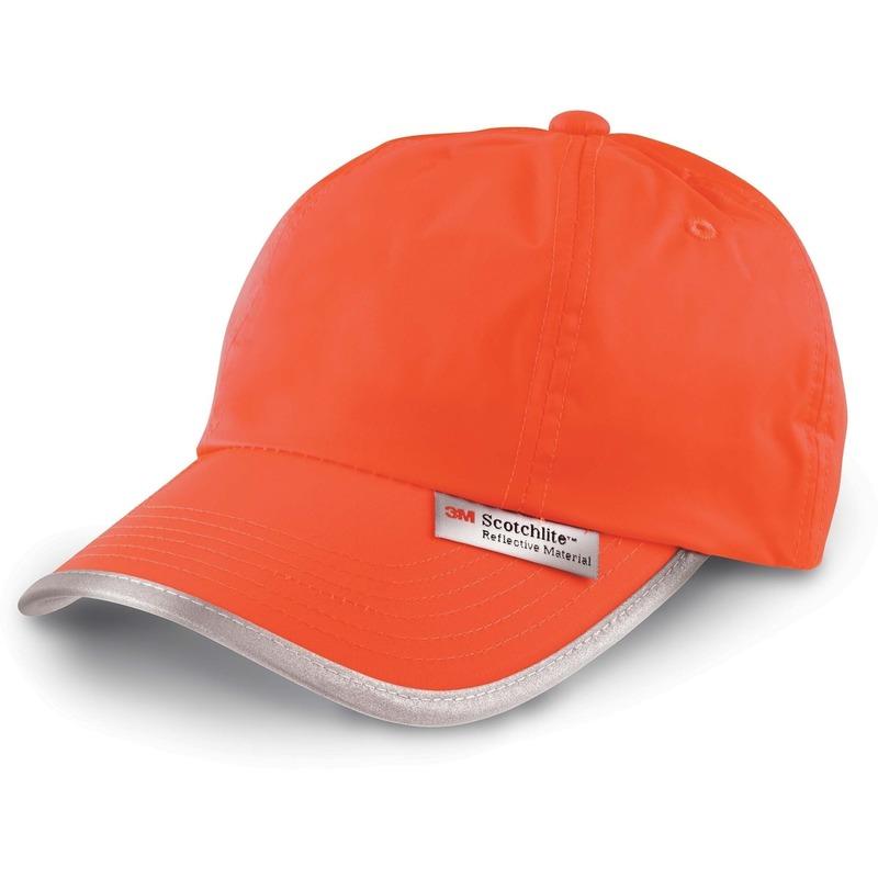 Oranje reflecterende pet
