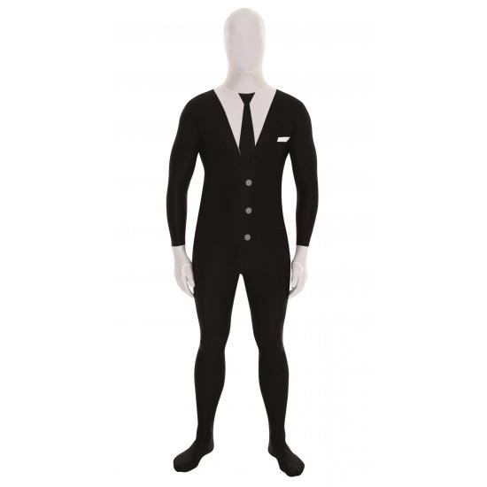 Originele morphsuit businessman zwart