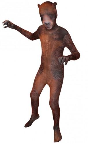 Originele morphsuit grizzly beer voor kids