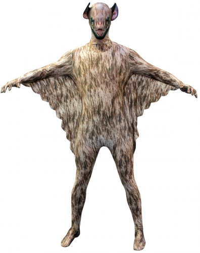 Originele morphsuit vleermuis
