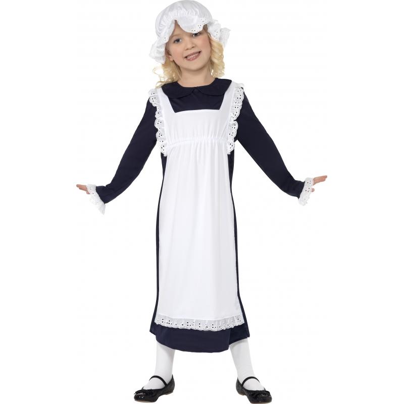 Ouderwets kostuum voor meisjes