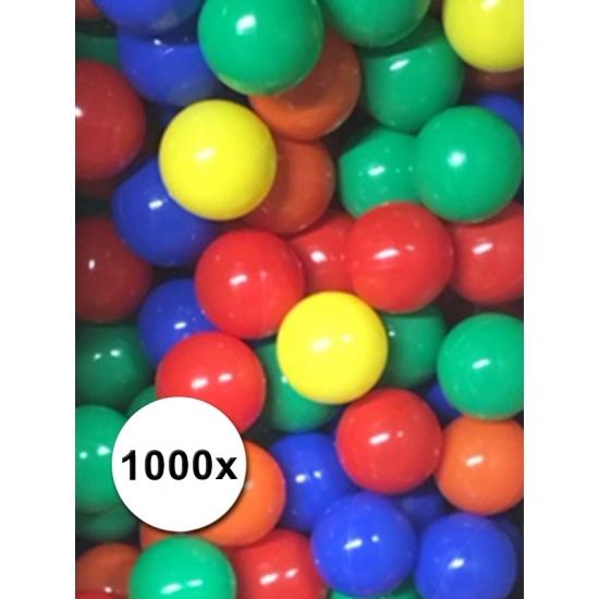 Pakket van 1000 ballenbak ballen 6cm