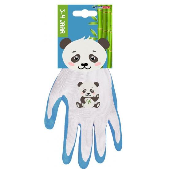 Panda kinderhandschoenen - tuinhandschoenen 3-4 jaar