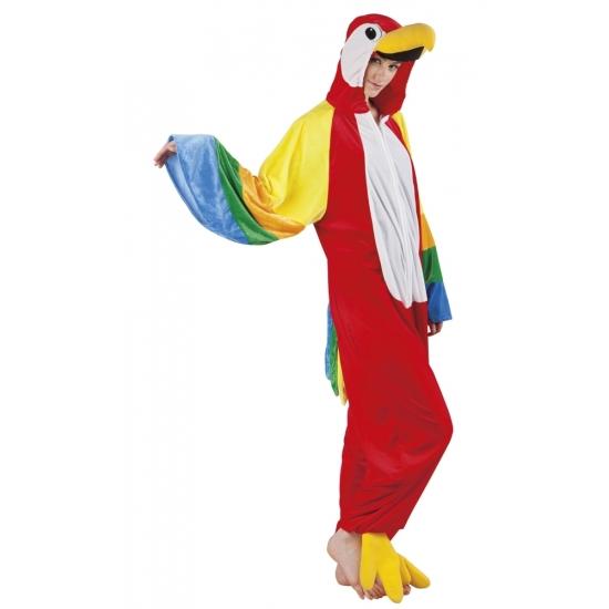 Papegaai dieren kostuum voor dames