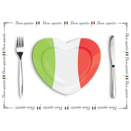 Papieren placemats Italie 500 stuks