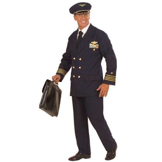 Piloot kostuum voor heren/mannen