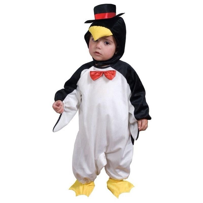 Pinguin kostuum voor een peuter