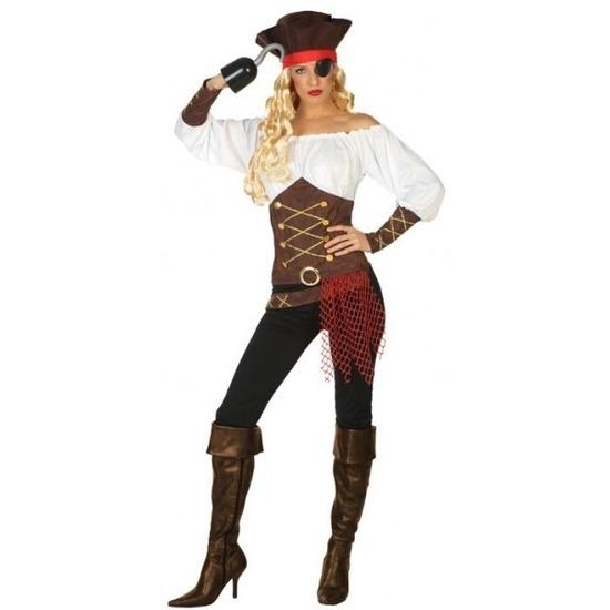 Piraat Agatha verkleed pak/kostuum voor dames