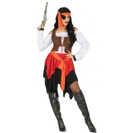 Piraat Mary verkleed pak/kostuum voor dames