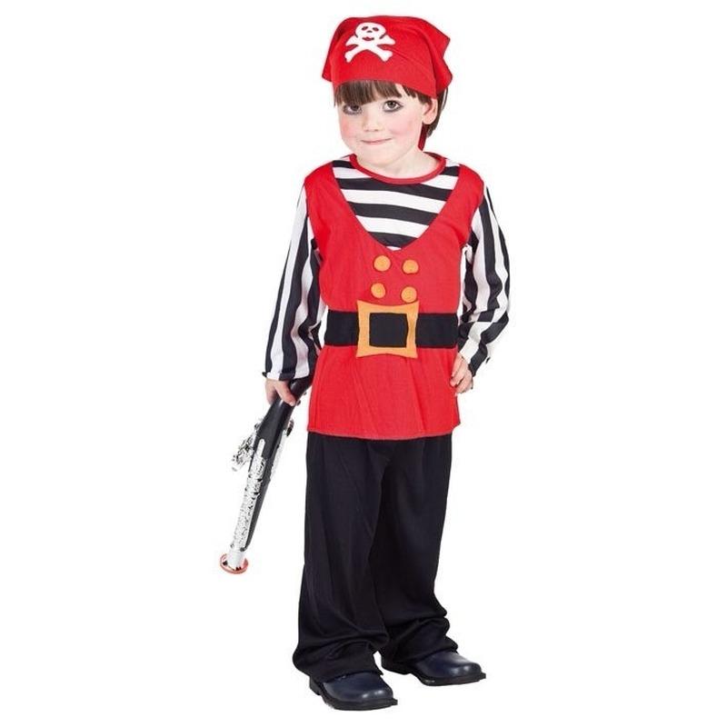 Piraten kostuum voor een peuter