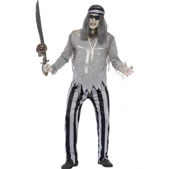 Piraten spook kostuum voor heren